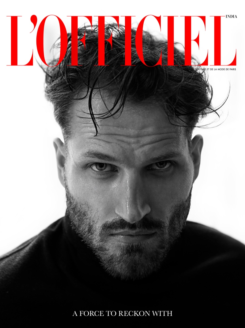 David is Front & Center for L'Officiel India Shoot