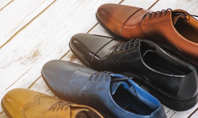 Different Colors Dress Shoes Men