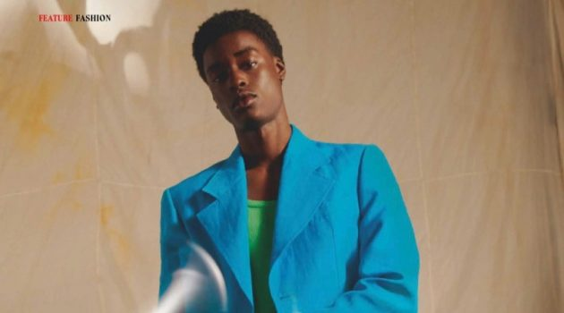 Babacar & Hidetatsu Don the Spring Collections for Esquire Taiwan