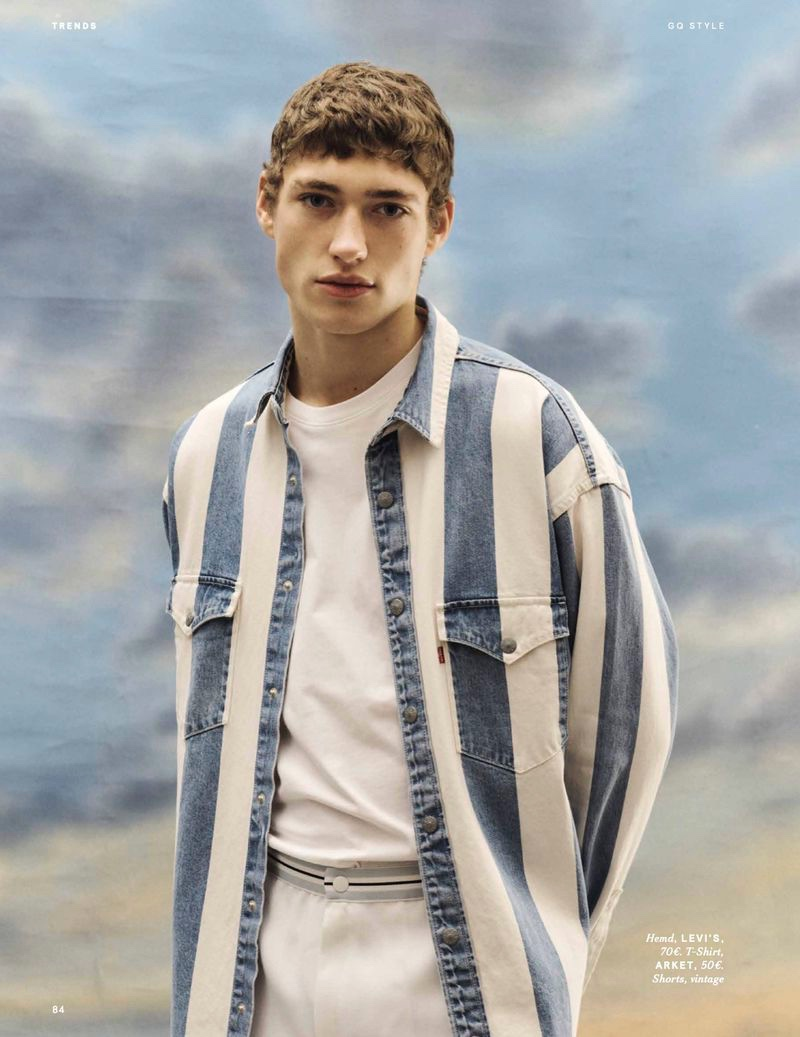 Valentin & Raphael Don Spring Trends for GQ Style Germany