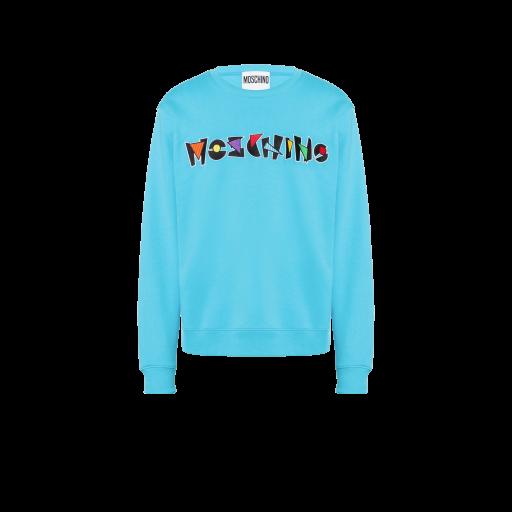 Geometric Logo Cotton Sweatshirt