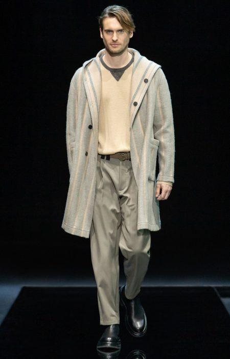 Giorgio Armani Traverses the Decades with Fall Collection