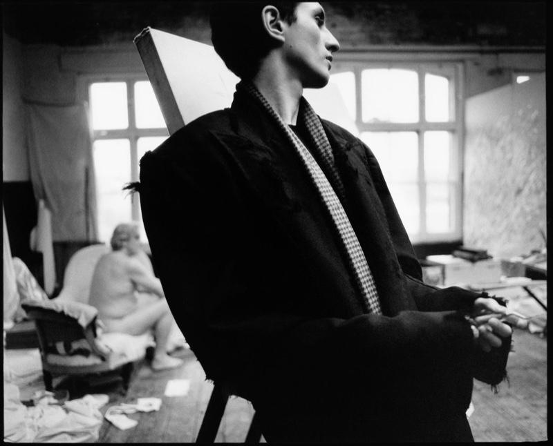 Henry Dons Modern Tailoring for WSJ. Magazine