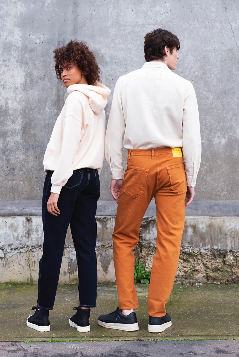 Hanna Lhoumeau and Anders Hayward showcase spring styles from Levi's Red.