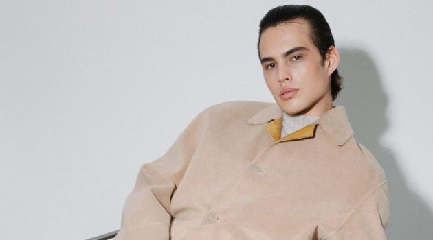 Louis Baines Sports Fendi Fall '21 Collection for HERO