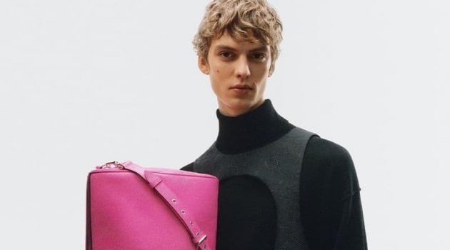 Leon Dame fronts the Louis Vuitton Taïgarama spring 2021 campaign.