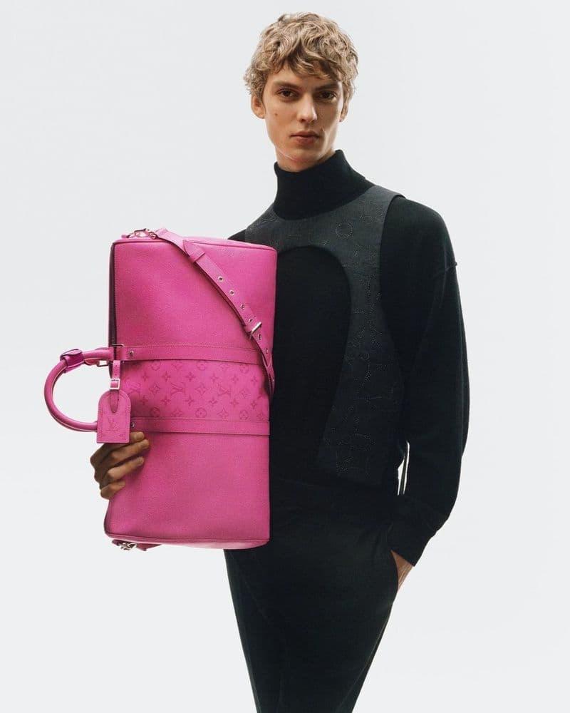 Leon Dame fronts the Louis Vuitton Taïgarama spring 2021 campaign.