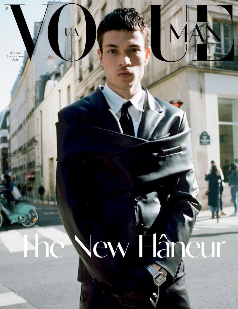 Luka Inspires in Cheeky Tailored Numbers for Vogue Ukraine Man