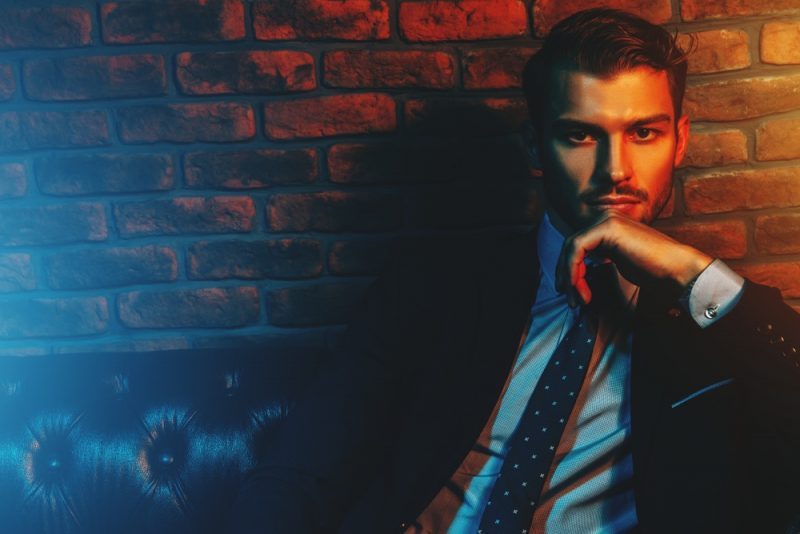 Male Model Dapper Suit