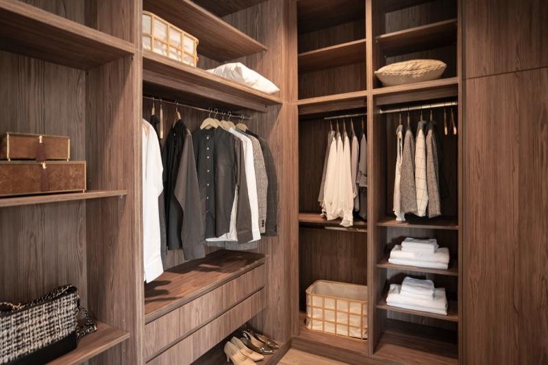Man's Closet Wardrobe Clothing
