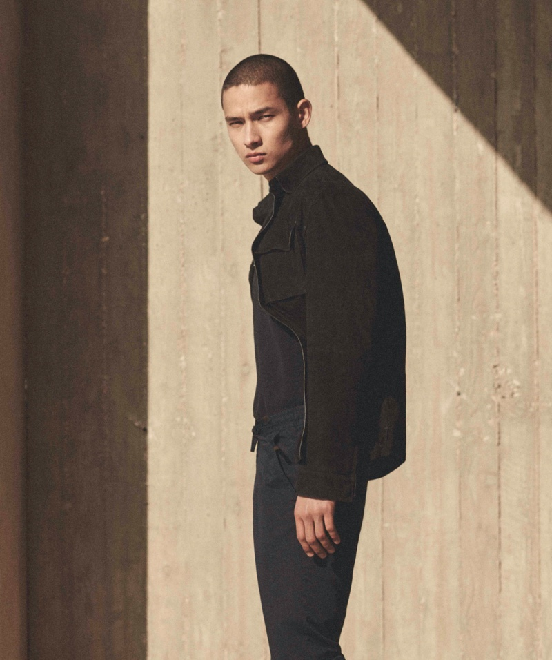 Tim, Valentin & Tommy Step Outdoors for Massimo Dutti Limited Edition Campaign