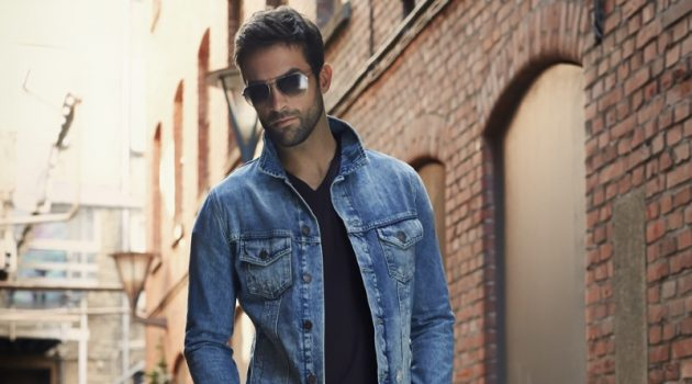 Mens Denim Look