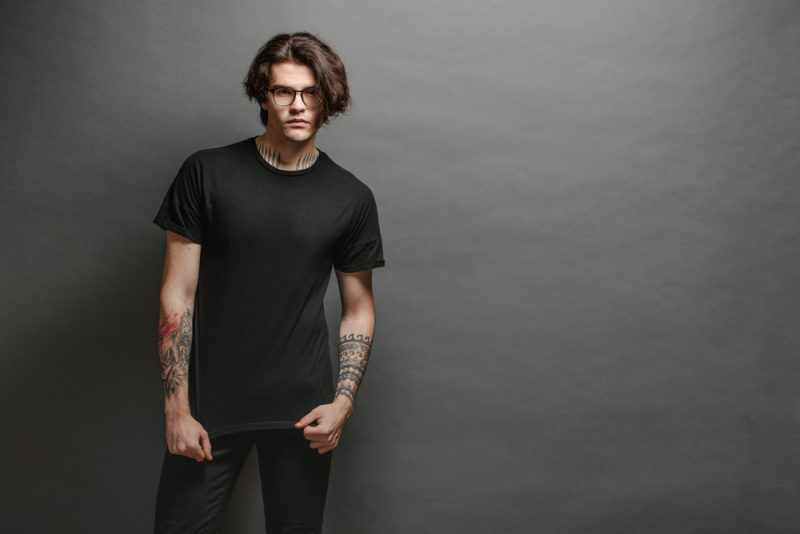 Mens TShirt and Jeans