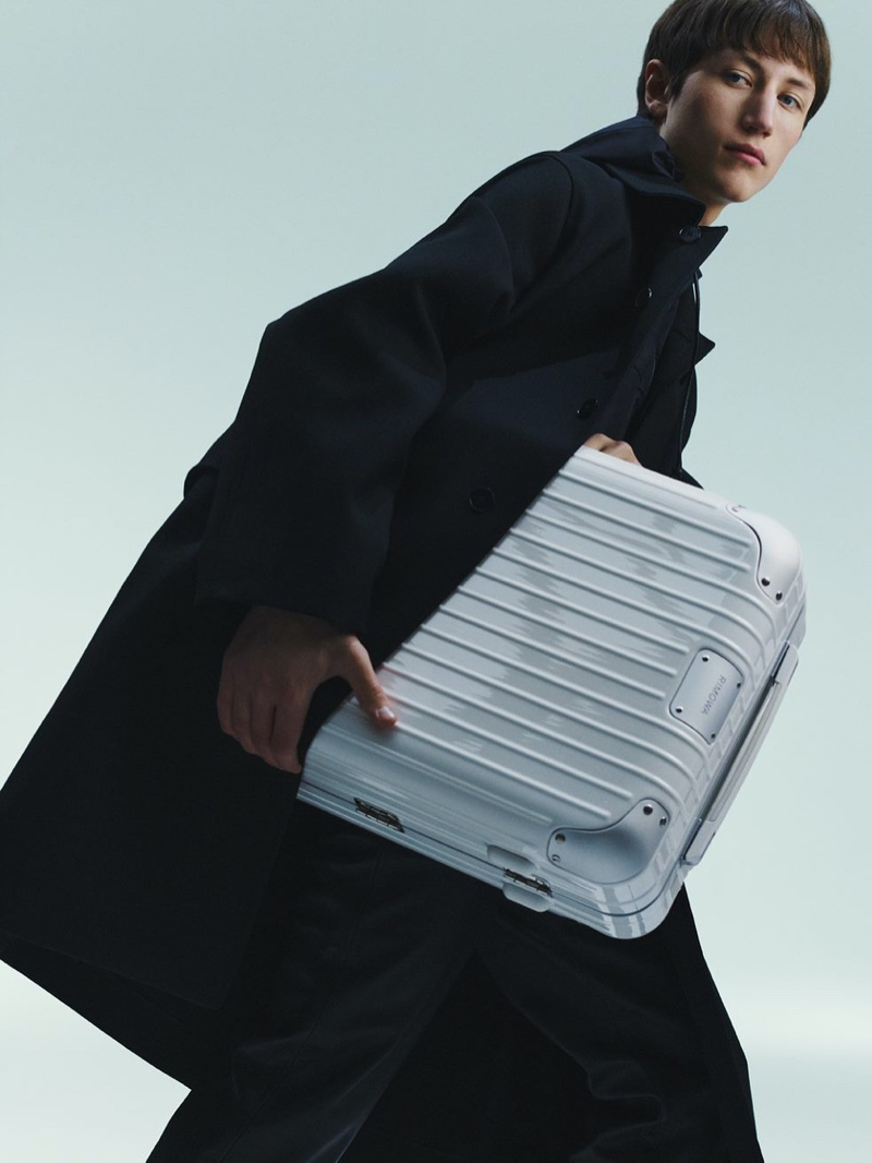 RIMOWA enlists Felix Cerutti as the face of its spring-summer 2021 campaign.