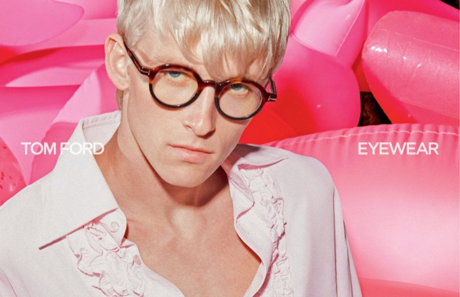 Newcomer Troy N. fronts Tom Ford's spring-summer 2021 men's eyewear campaign.