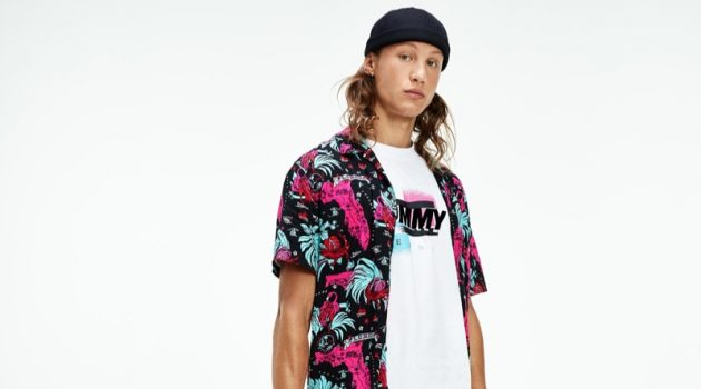 Tommy Jeans Channels 'Old School South Beach Swag'