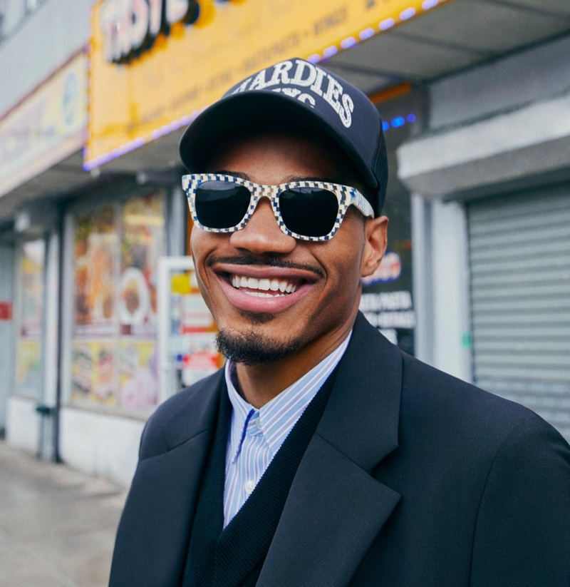 Skater Tyshawn Jones Makes a Statement with Warby Parker Collaboration