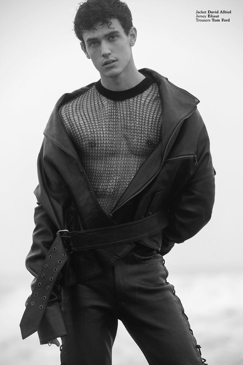 Xavier Serrano Hits the Beach for Les Hommes Publics