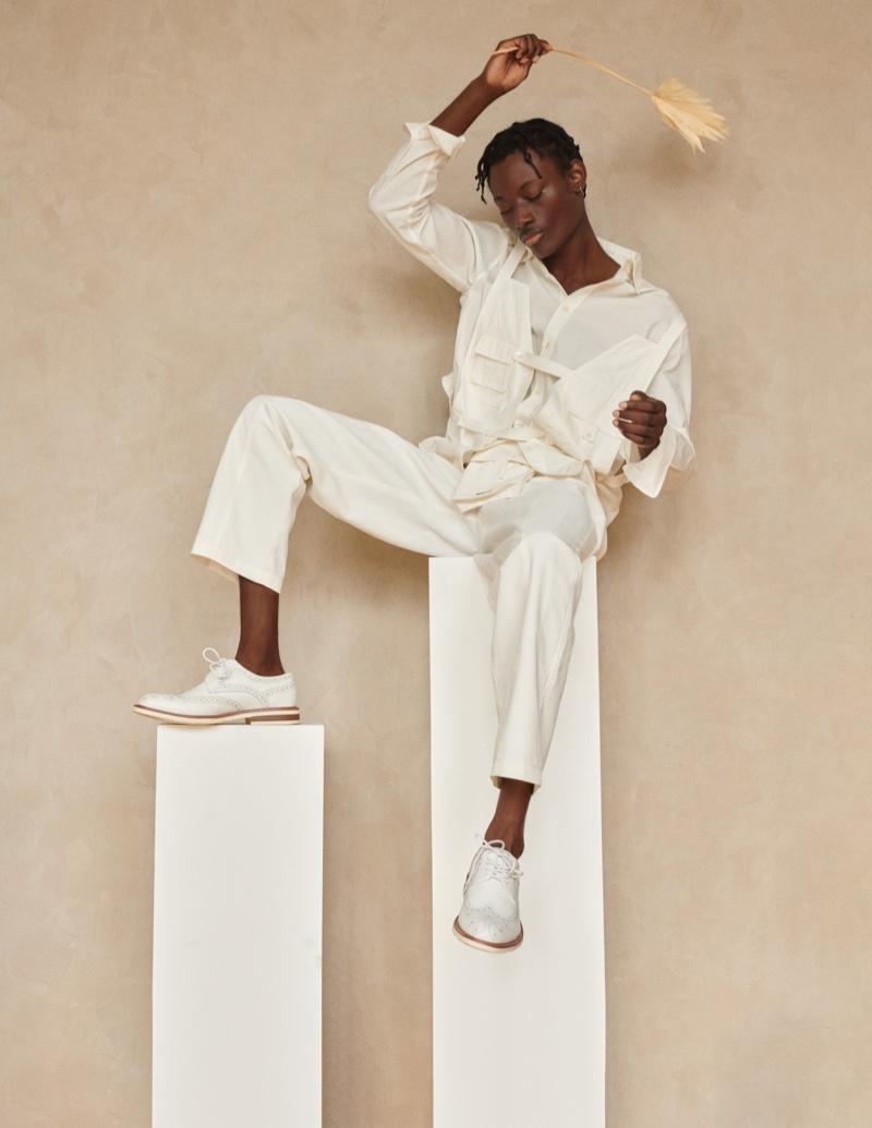Youssouf Models Coordinated Looks for Vestal Magazine
