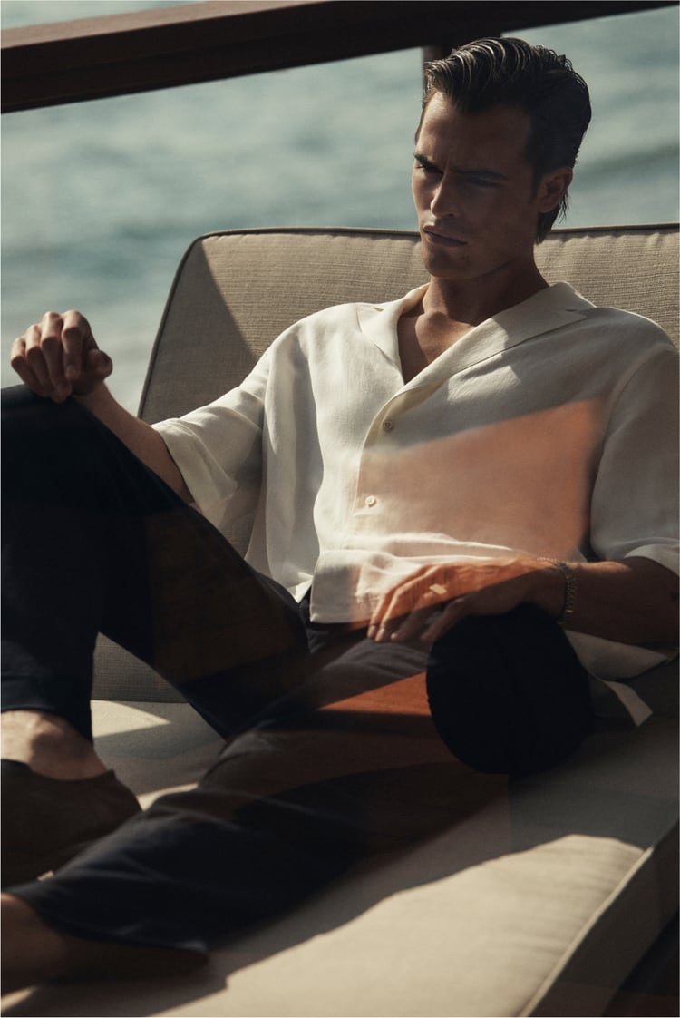 Parker Sports Sleek Style for Zara Spring Campaign