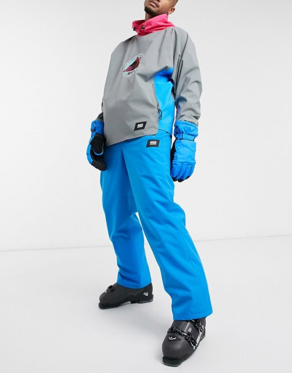 ASOS 4505 ski pants in blue-Green