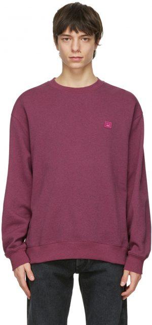 Acne Studios Pink Oversized Sweatshirt