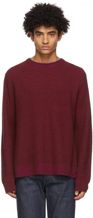 Acne Studios Red Cashmere Sweater