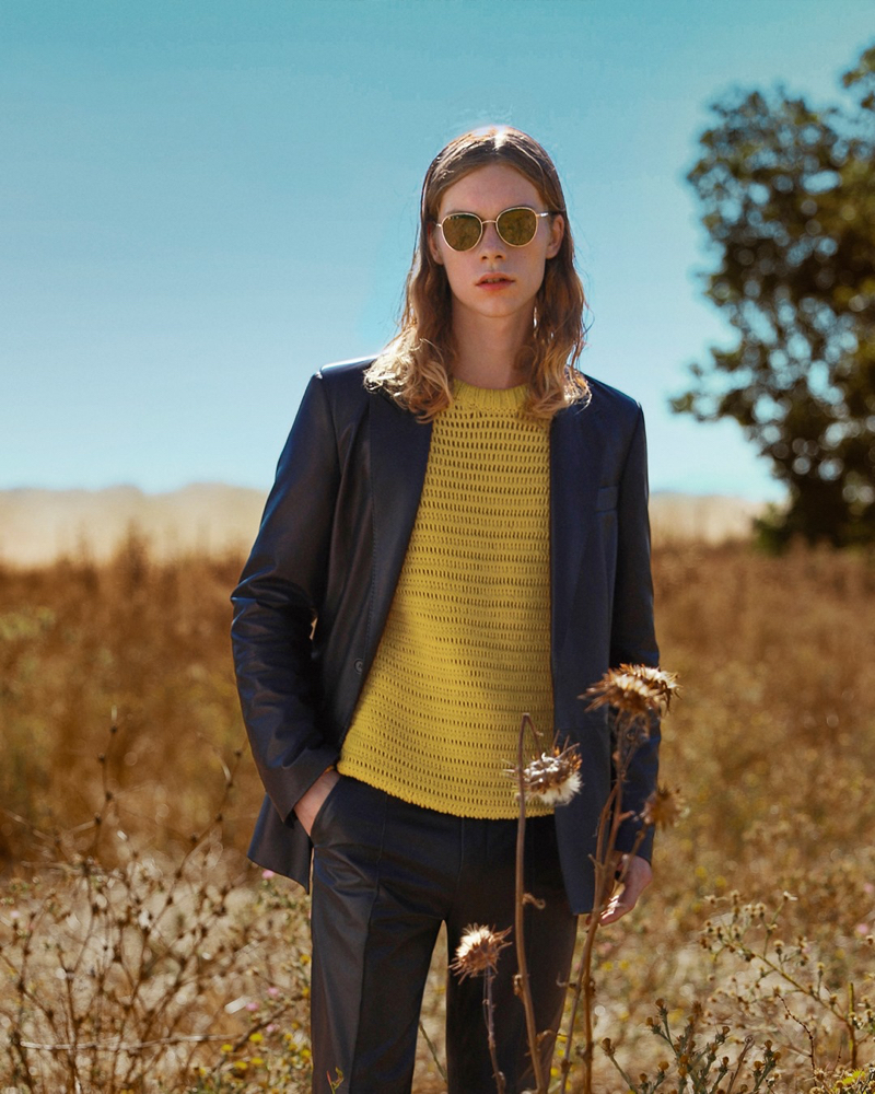 Kit Warrington fronts Bally's spring-summer 2021 campaign.