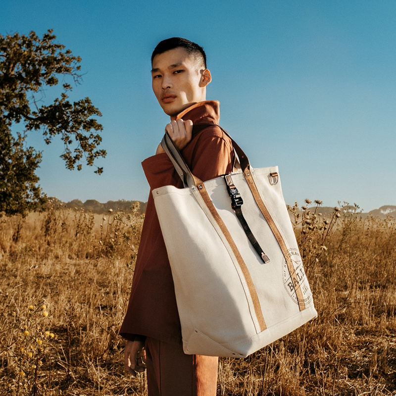 Chun Soot appears in Bally's spring-summer 2021 campaign.