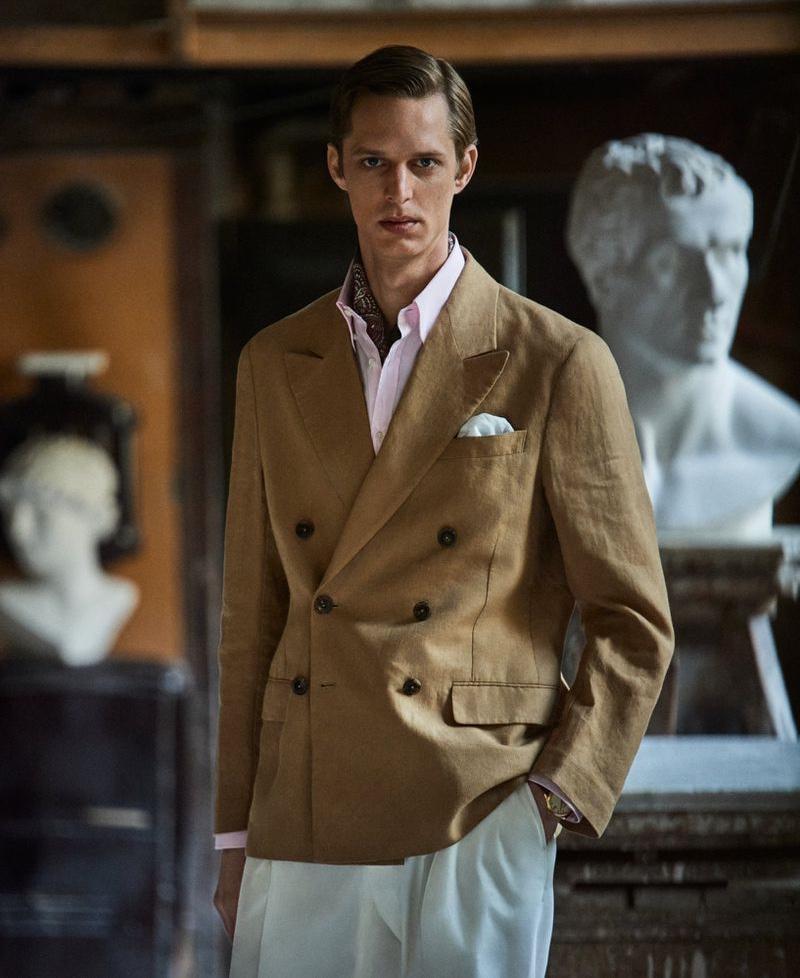 Benoni Loos Suits Up for Gentleman