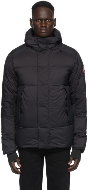 Canada Goose Black Down Armstrong Hoody Jacket