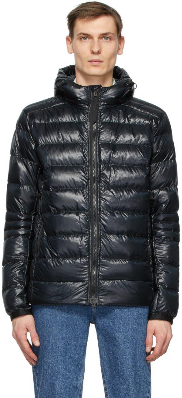 Canada Goose Black Down Crofton Jacket