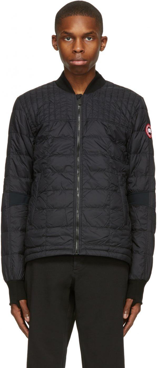 Canada Goose Black Down Dunham Jacket