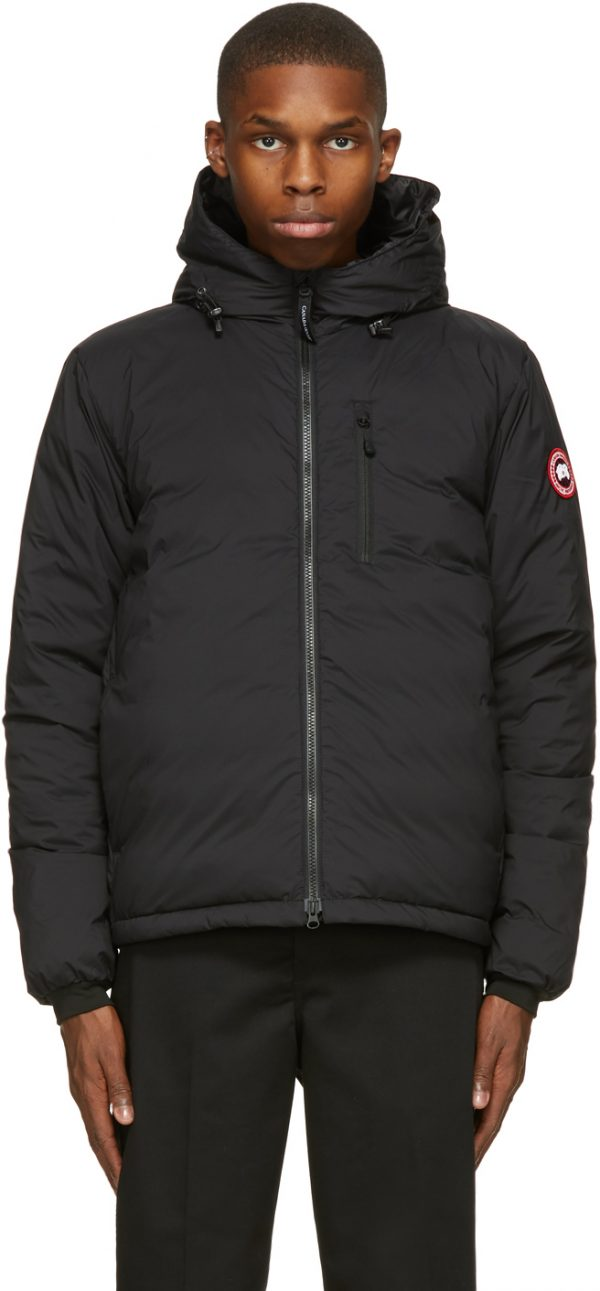 Canada Goose Black Down Lodge Jacket