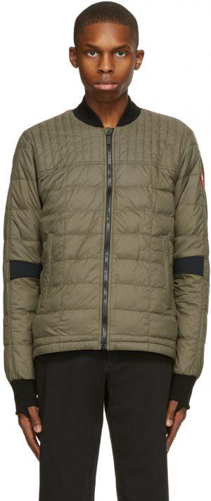 Canada Goose Green Down Dunham Jacket