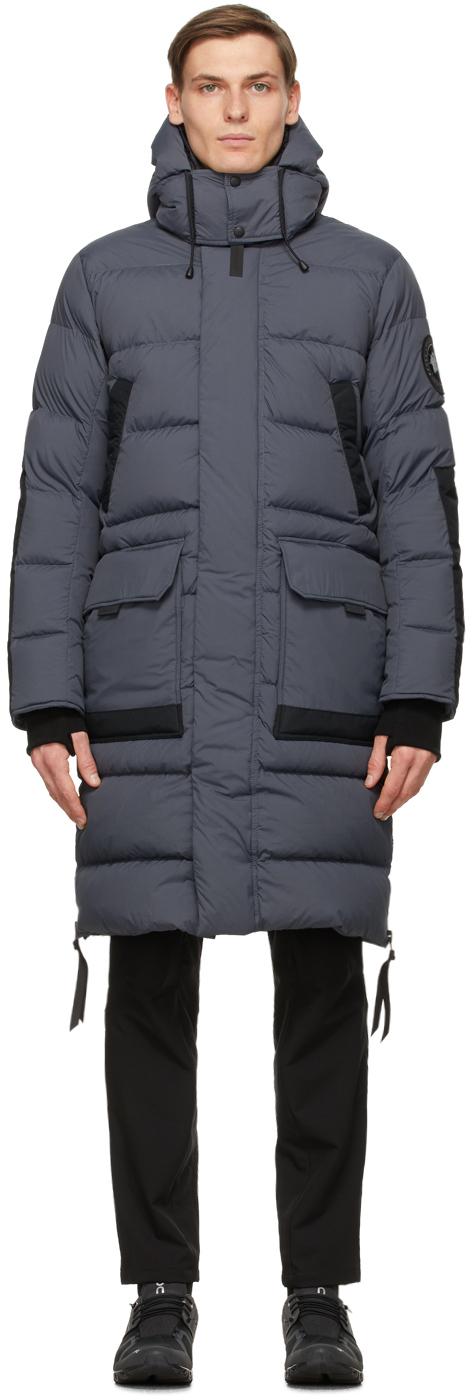 Canada Goose Grey 'Black Label' Warwick Jacket