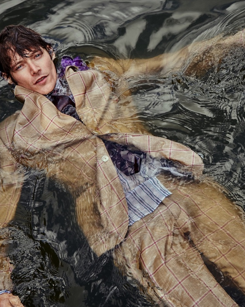 Conrad Leadley links up with Club of Gents to showcase its spring-summer 2021 collection.