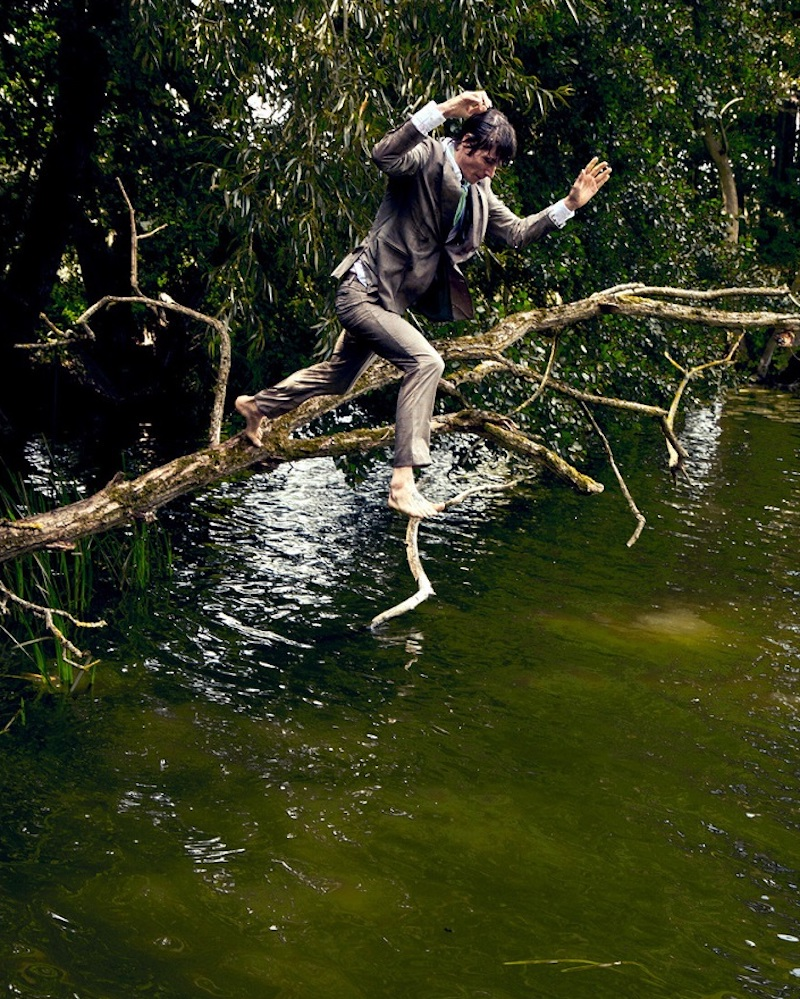 Andreas Ortner photographs Conrad Leadley for Club of Gents.