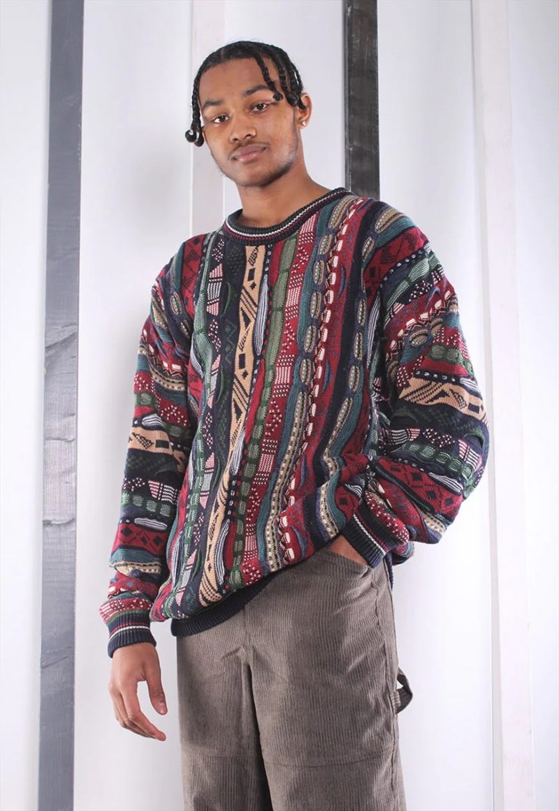 Coogi Style Mens Sweater