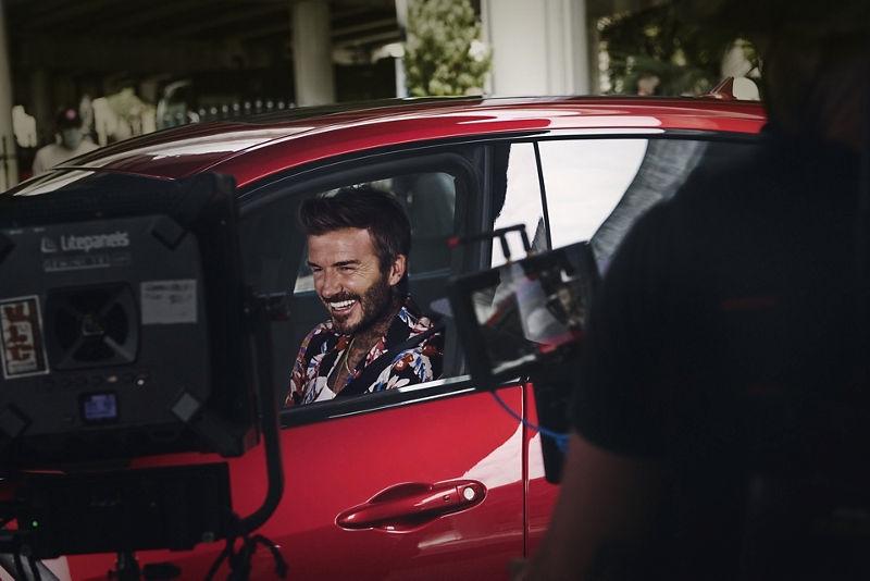 David Beckham Signs on as Maserati Global Brand Ambassador