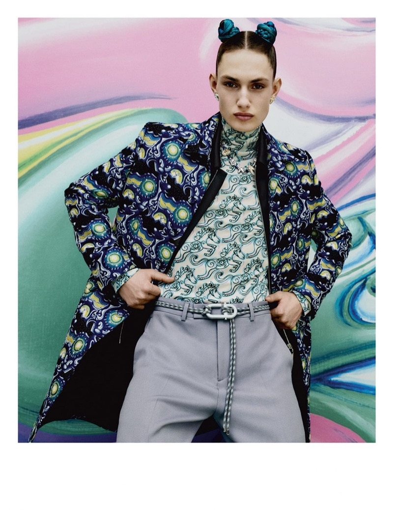 Dior Men Delivers Colorful Pre-Fall Campaign