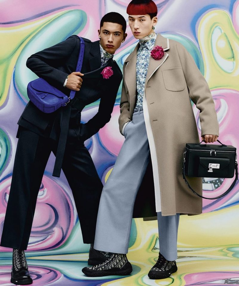 Dior Men Delivers Colorful Pre-Fall Campaign
