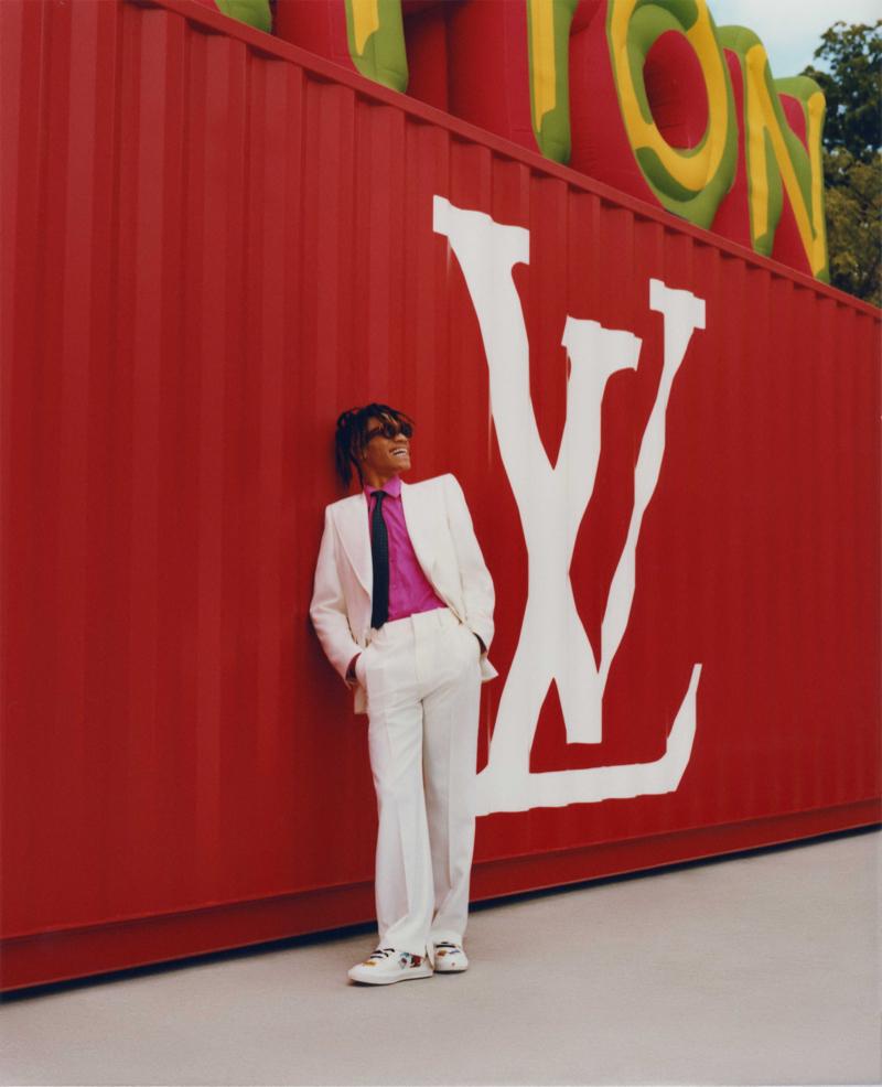 Julian & Jerry Brighten Up in Louis Vuitton for Elle Man México