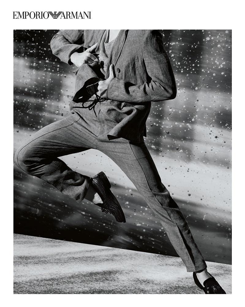 Jackson Yee, Lucas Lynggaard + More Hit Elegant Poses for Emporio Armani Campaign
