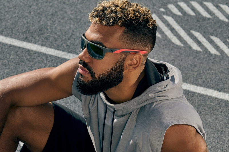 Puma enlists Eric Maxim Choupo-Moting as the star of its spring-summer 2021 eyewear campaign.