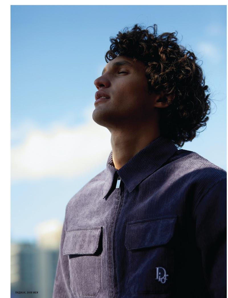 Francisco Henriques Stars in L'Officiel Hommes Ukraine Cover Shoot