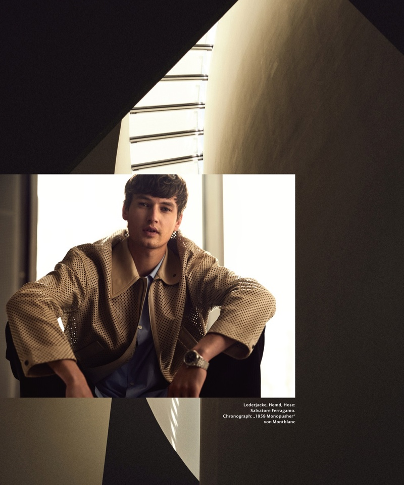 Frederik Ruegger Embraces 'The New Form' for Mr Icon