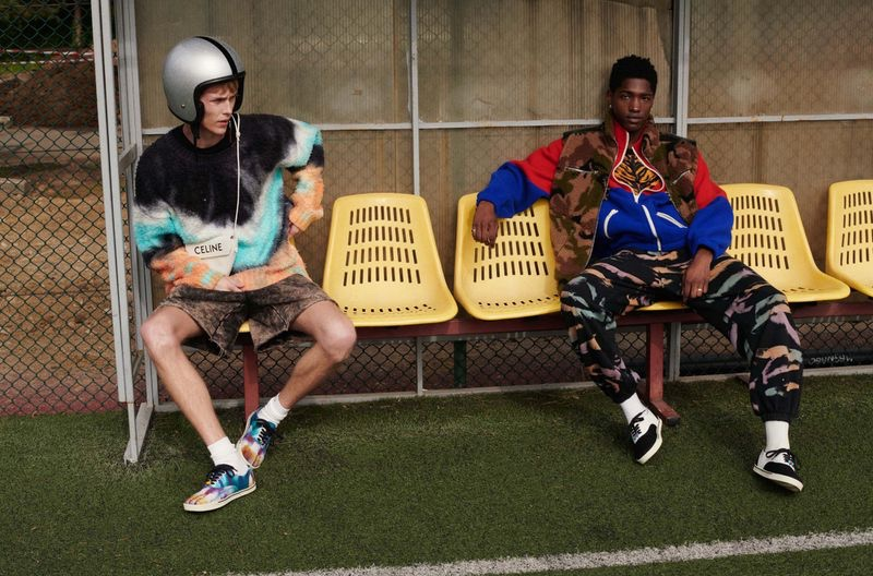Oliver Houlby & Diogo Gomes Go Sporty for GQ Italia