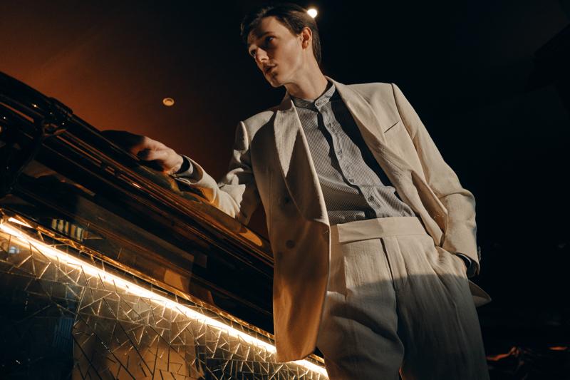 Giorgio Armani's Classic Tailoring is Front & Center for Mr Porter Capsule