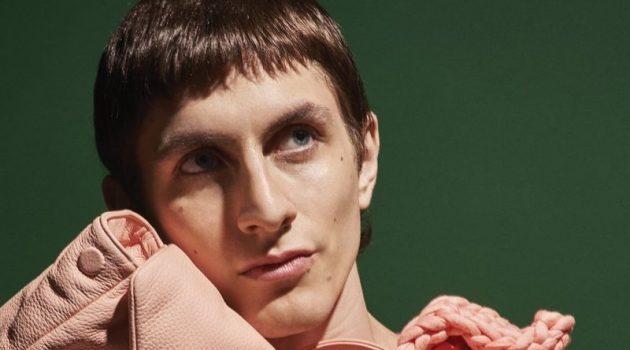 Henry Kitcher Dons Bottega Veneta for Interview Magazine